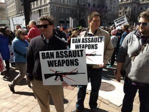 Gun-control supporters